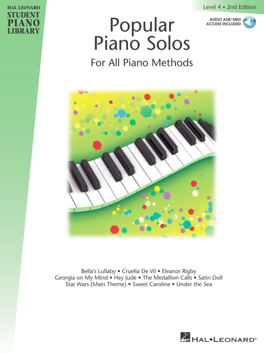 Popular Piano Solos 2nd Edition – Level 4