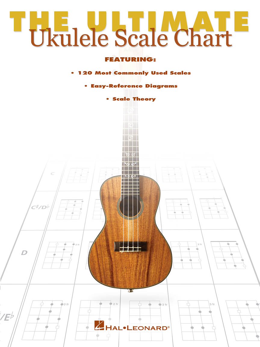 Product Cover for The Ultimate Ukulele Scale Chart