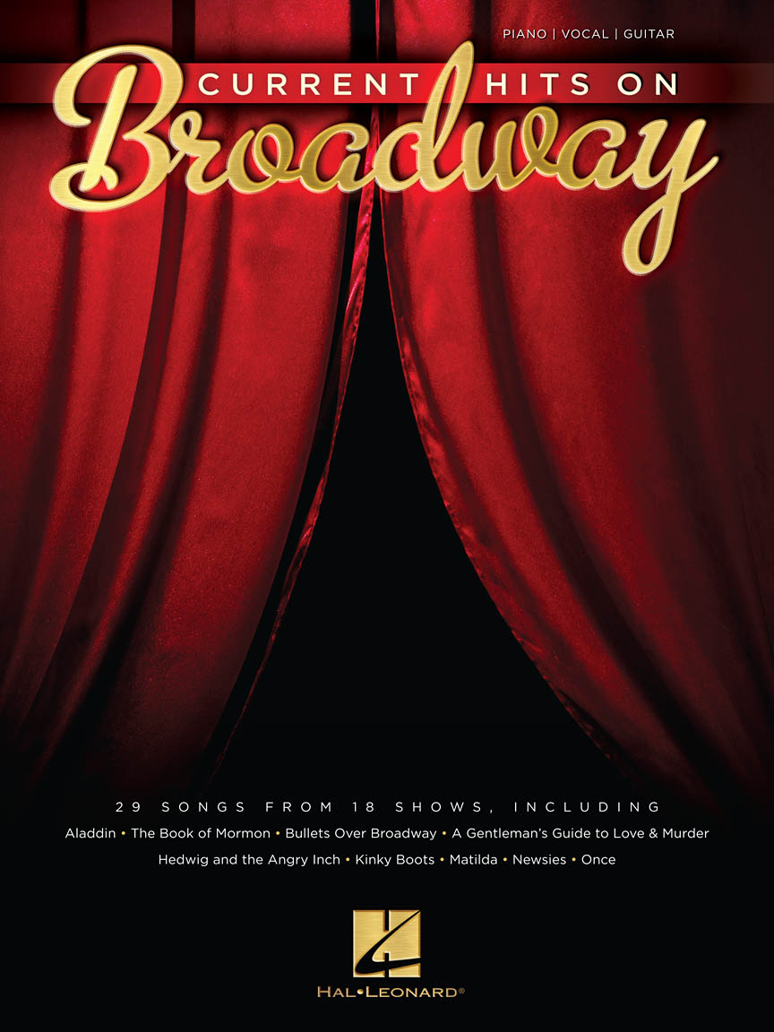 Product Cover for Current Hits on Broadway