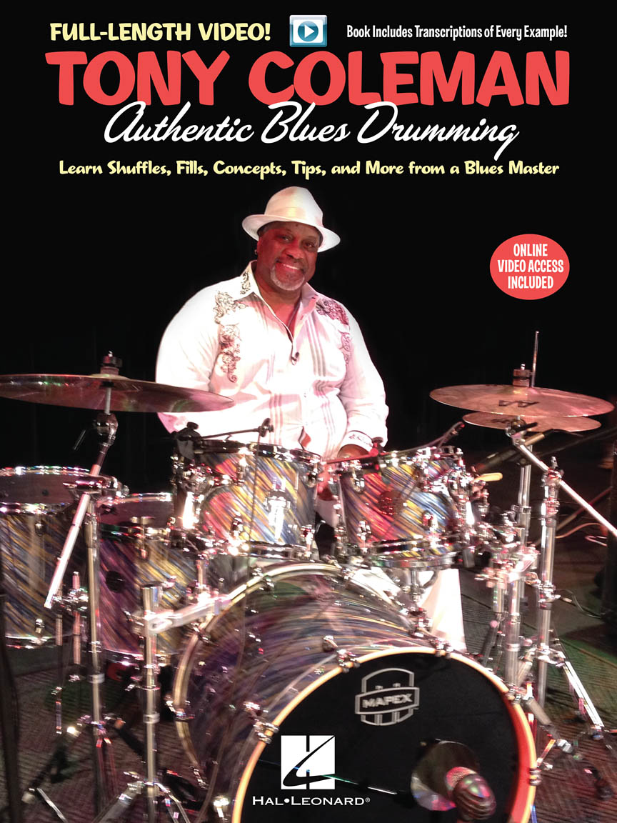 Product Cover for Tony Coleman – Authentic Blues Drumming