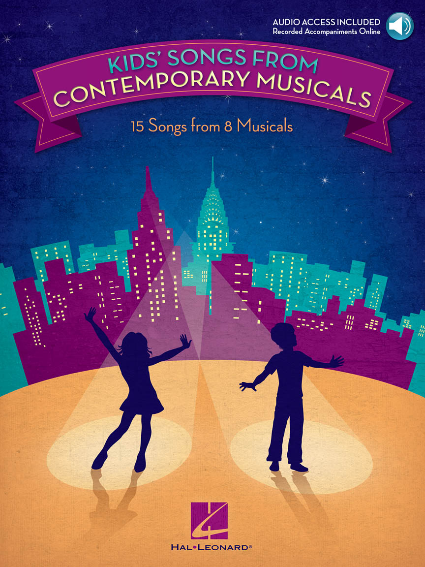 Product Cover for Kids' Songs from Contemporary Musicals