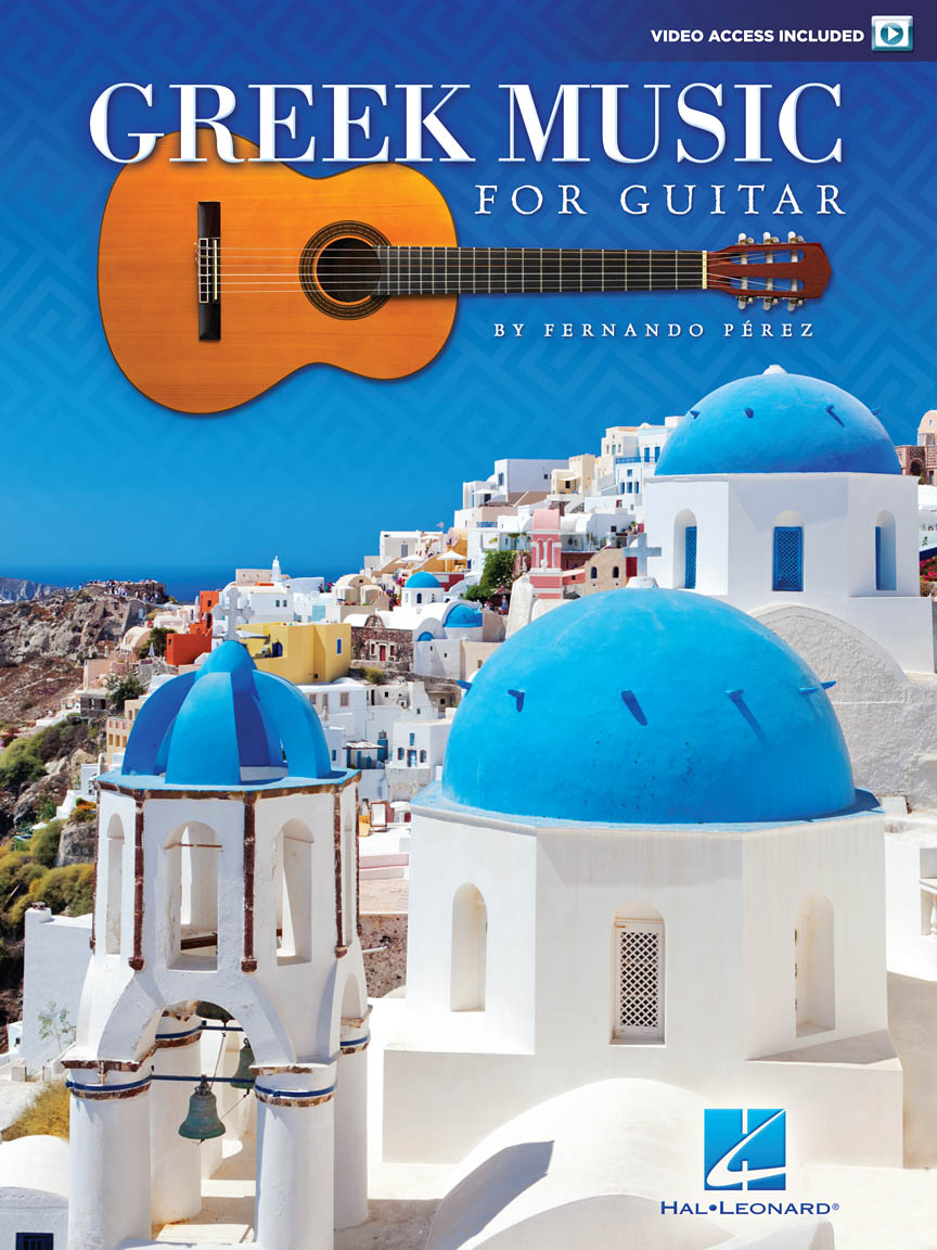 Product Cover for Greek Music for Guitar