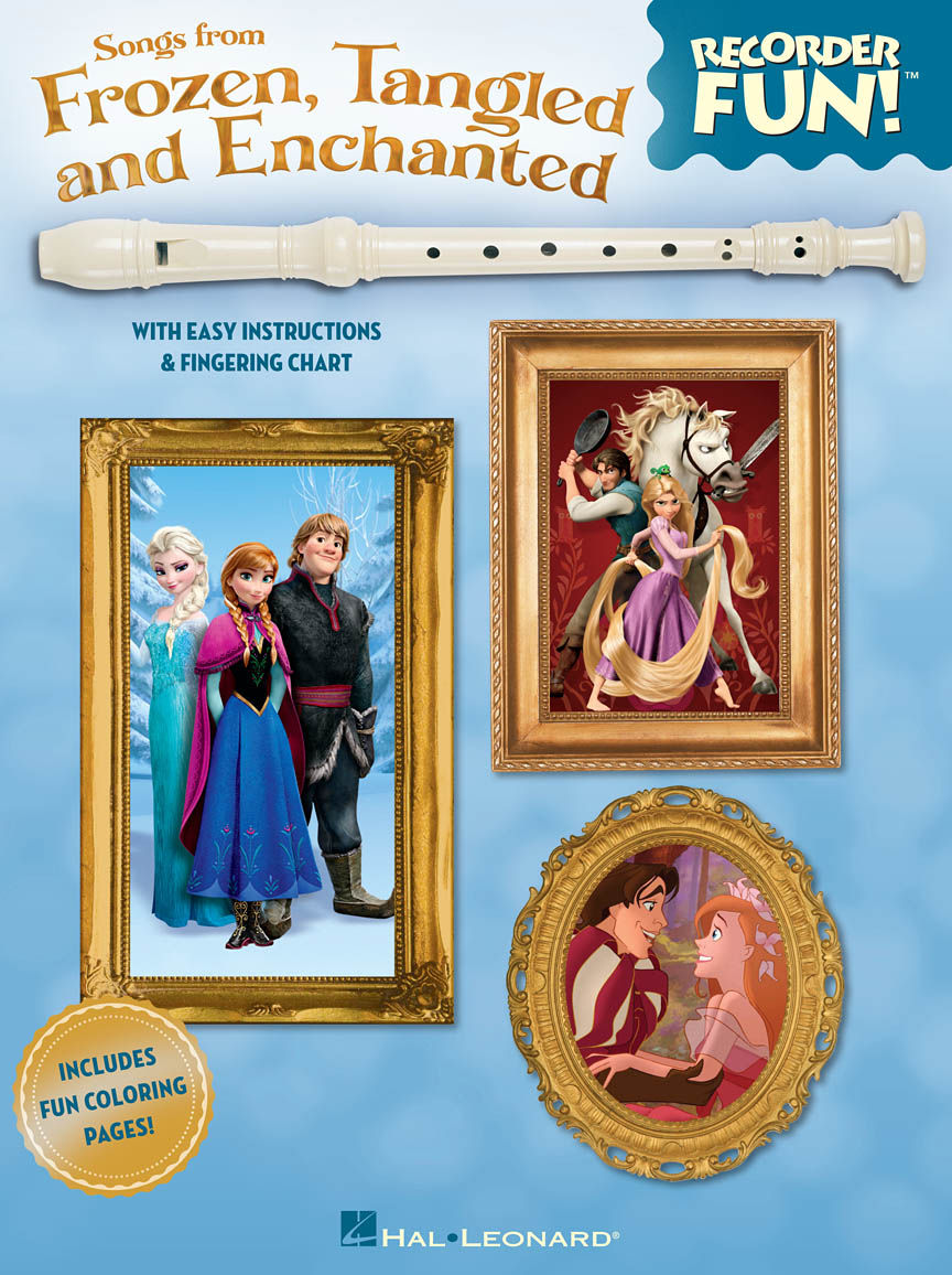 Product Cover for Songs from Frozen, Tangled and Enchanted – Recorder Fun!