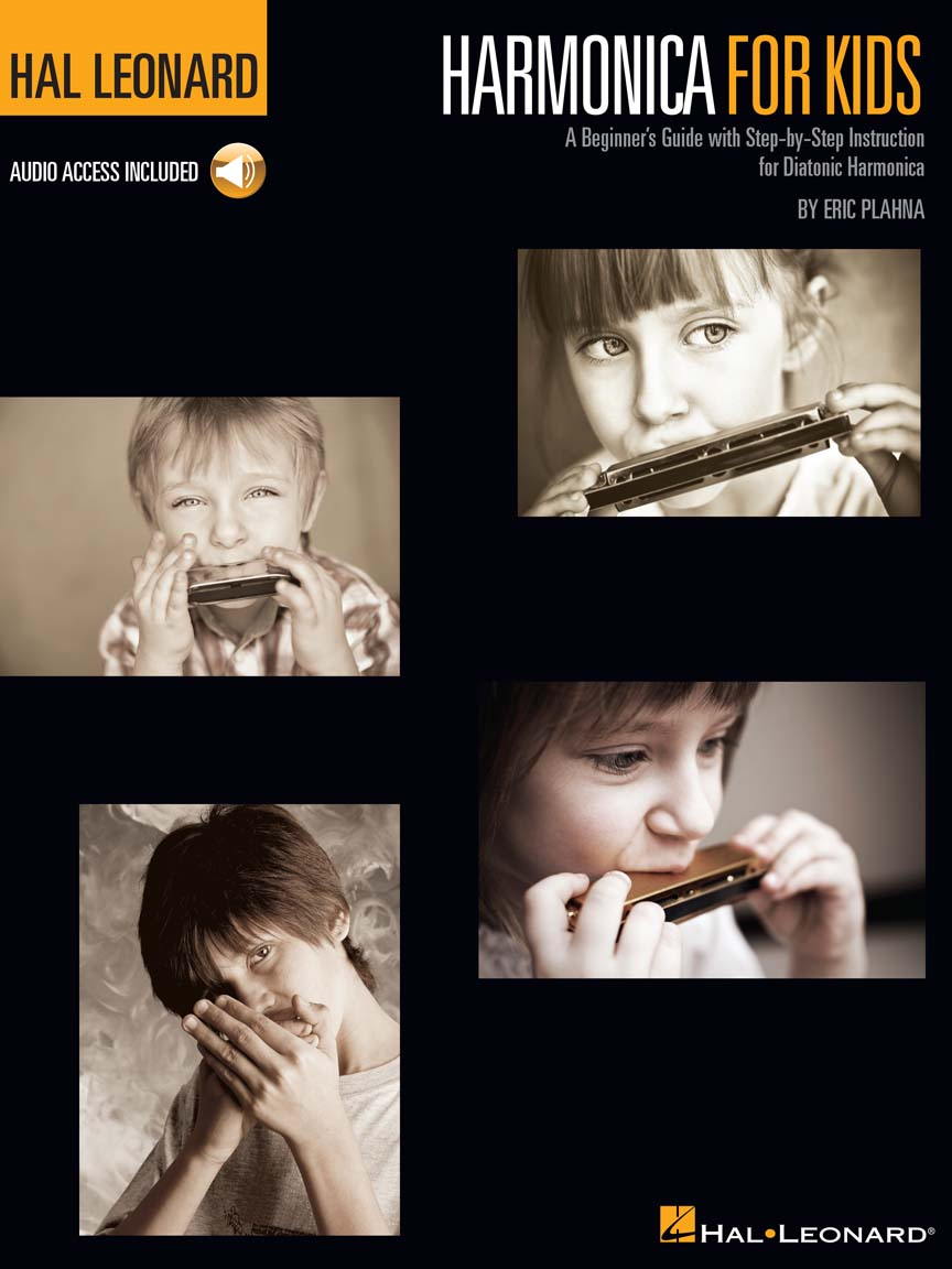 Product Cover for Harmonica for Kids – A Beginner's Guide with Step-by-Step Instruction for Diatonic Harmonica