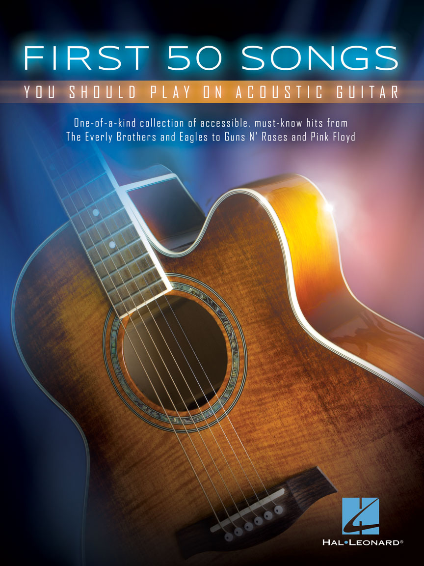 Product Cover for First 50 Songs You Should Play on Acoustic Guitar
