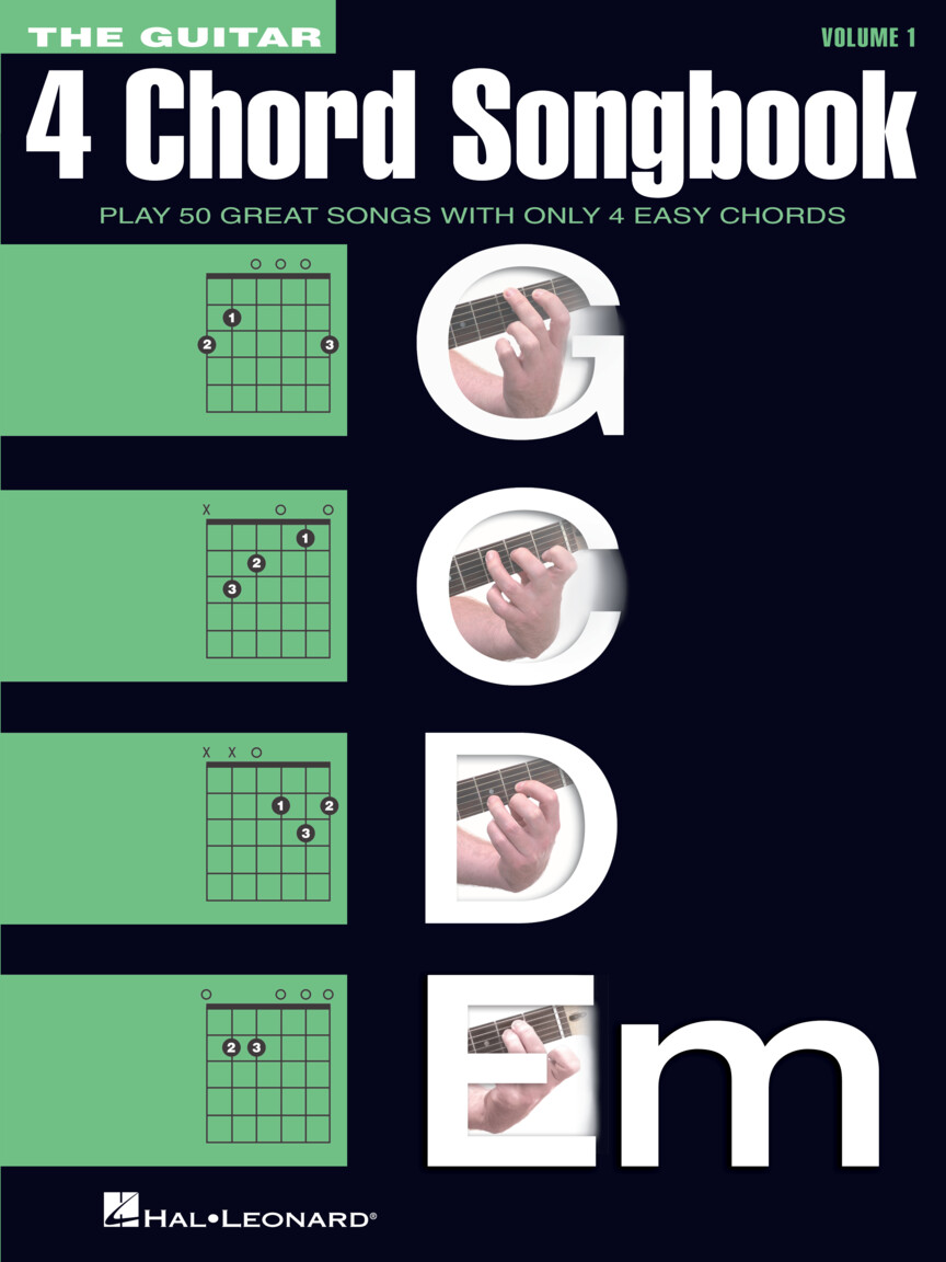 Product Cover for The Guitar 4-Chord Songbook G-C-D-Em