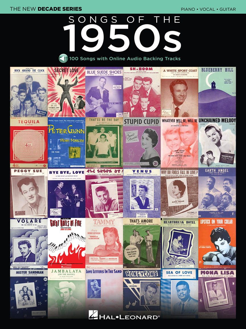 Product Cover for Songs of the 1950s