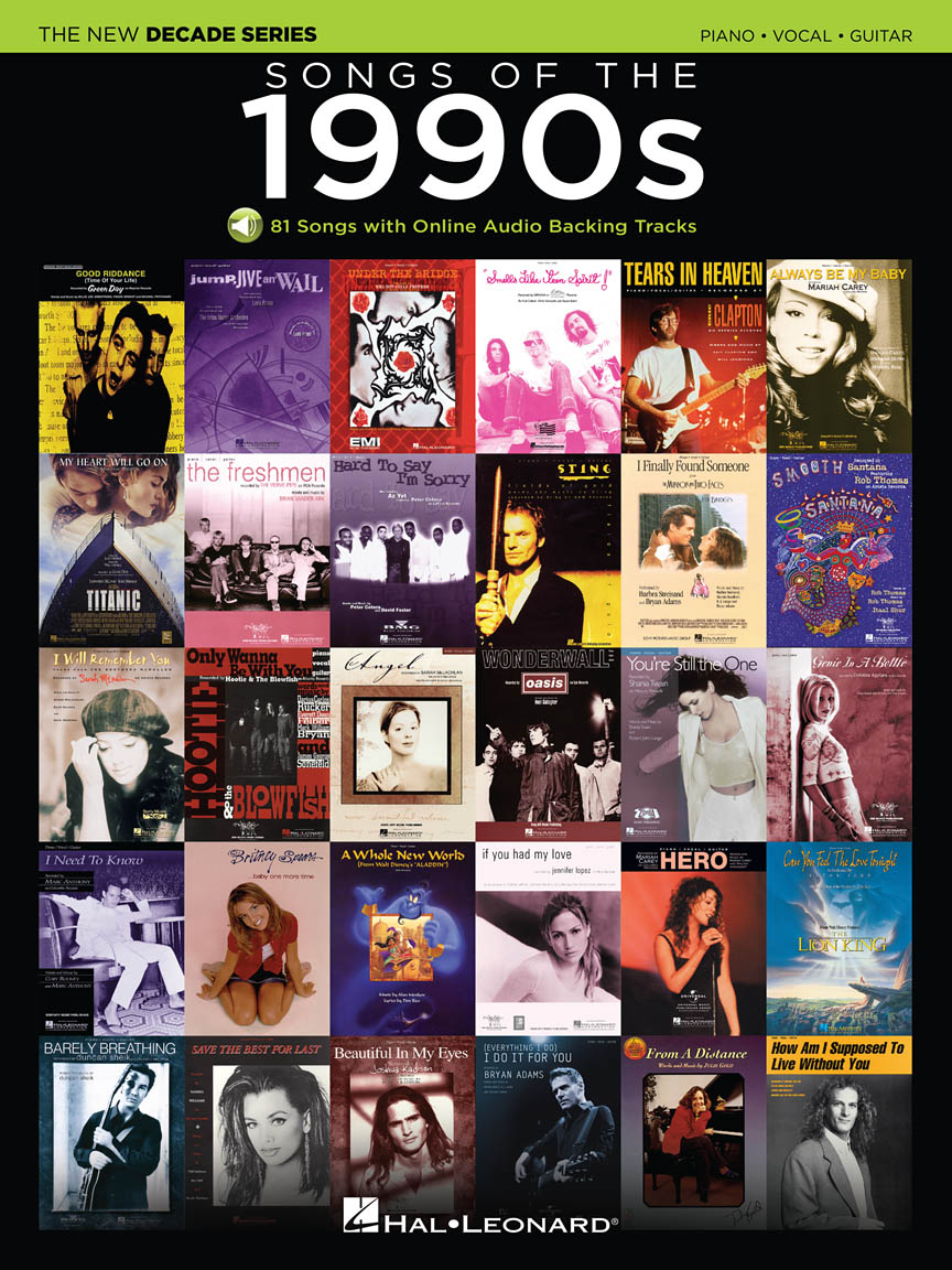 Product Cover for Songs of the 1990s
