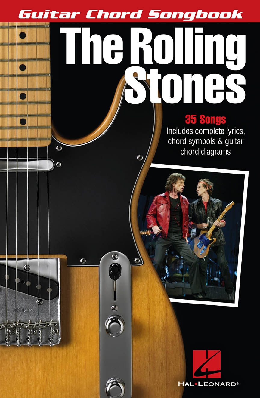 Product Cover for The Rolling Stones – Guitar Chord Songbook
