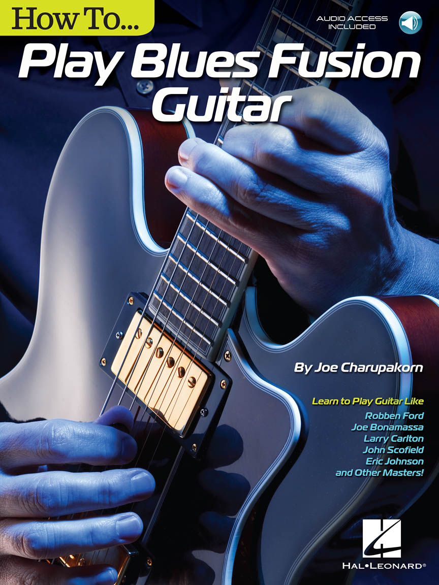 Product Cover for How to Play Blues-Fusion Guitar