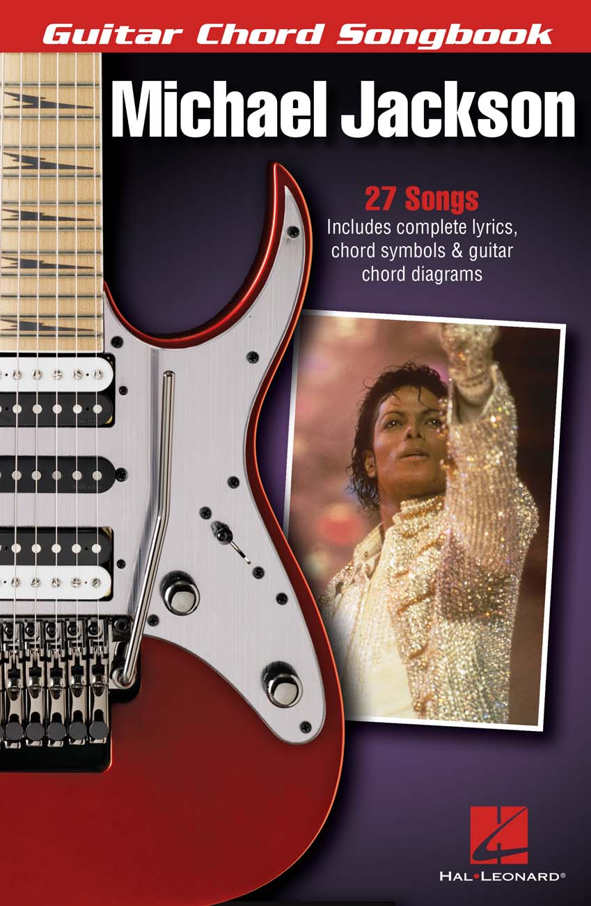 Product Cover for Michael Jackson – Guitar Chord Songbook