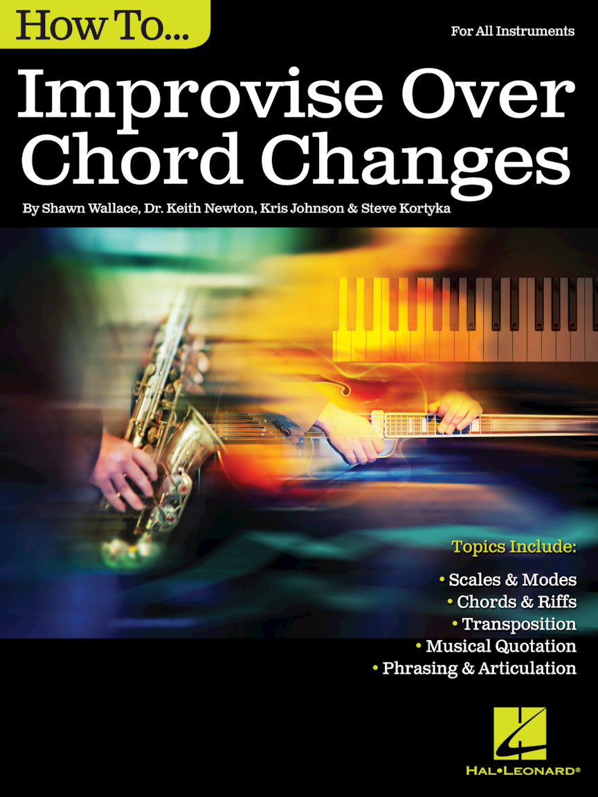 Product Cover for How to Improvise Over Chord Changes