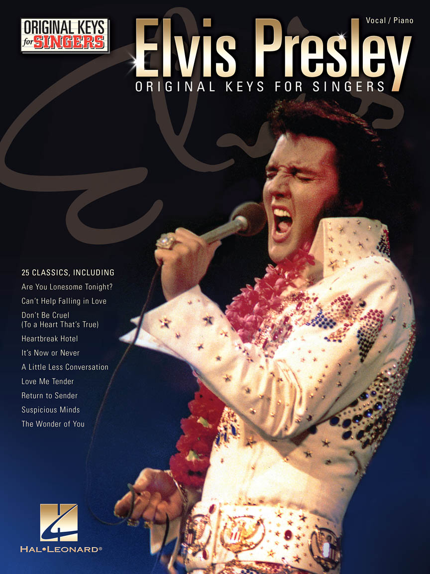 Product Cover for Elvis Presley – Original Keys for Singers