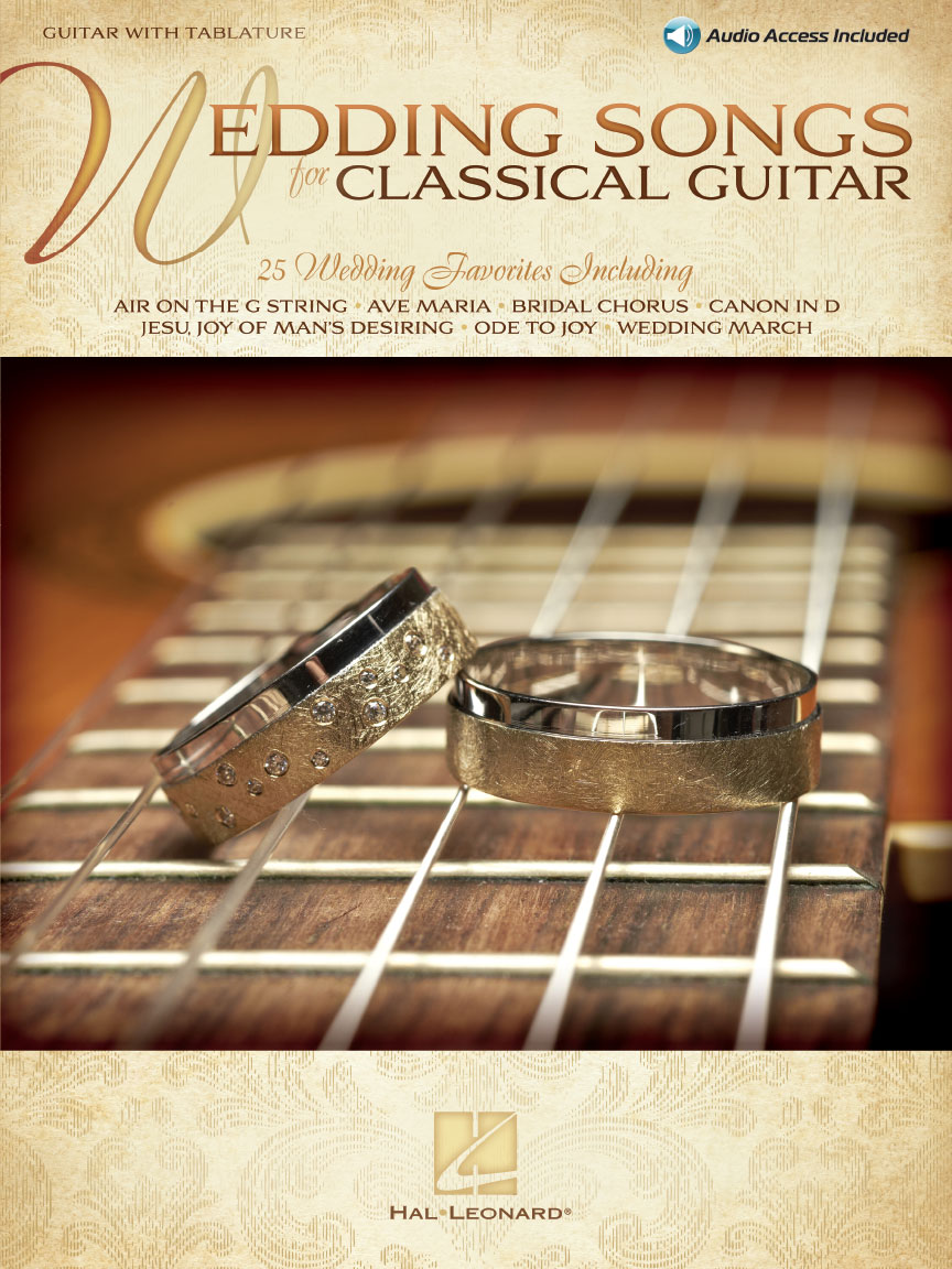 Product Cover for Wedding Songs for Classical Guitar