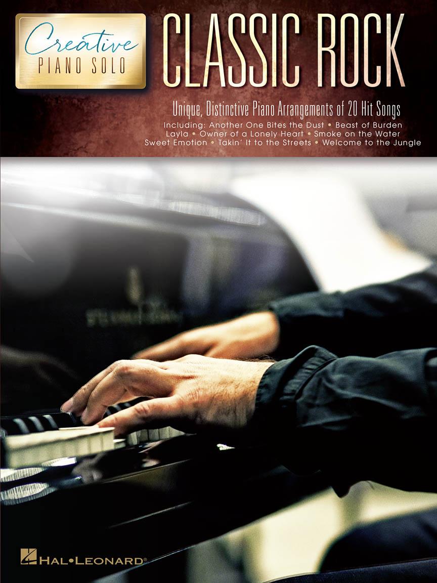 Product Cover for Classic Rock – Creative Piano Solo