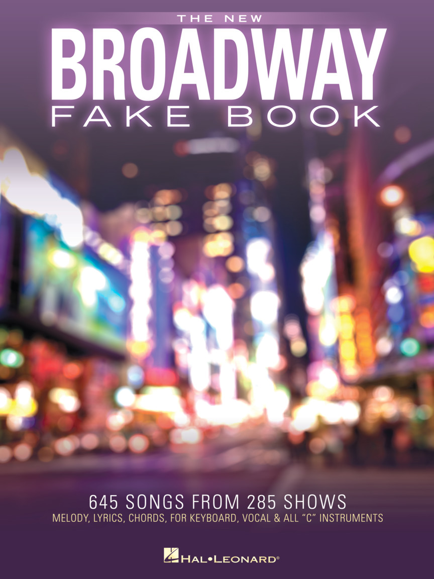Product Cover for The New Broadway Fake Book