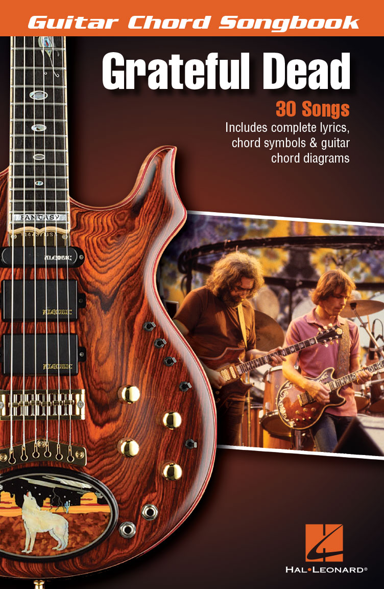 Product Cover for Grateful Dead – Guitar Chord Songbook