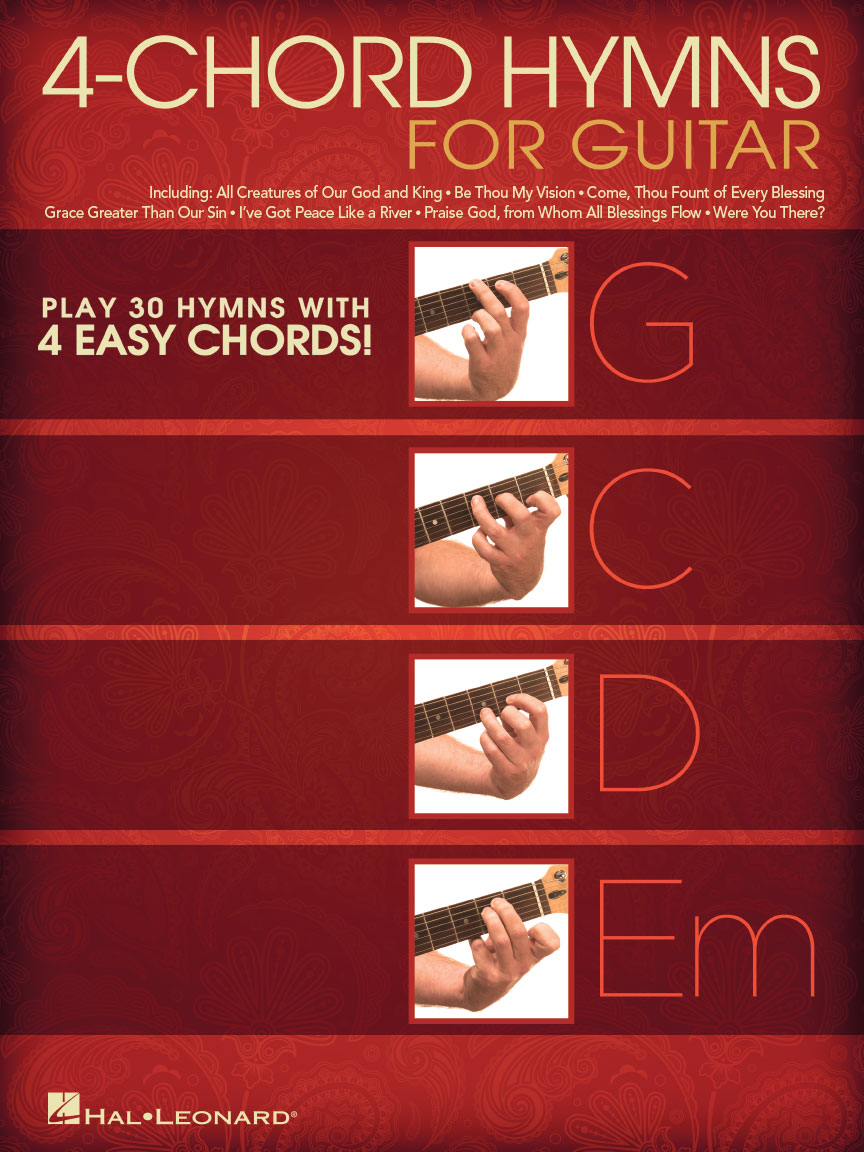 Product Cover for 4-Chord Hymns for Guitar