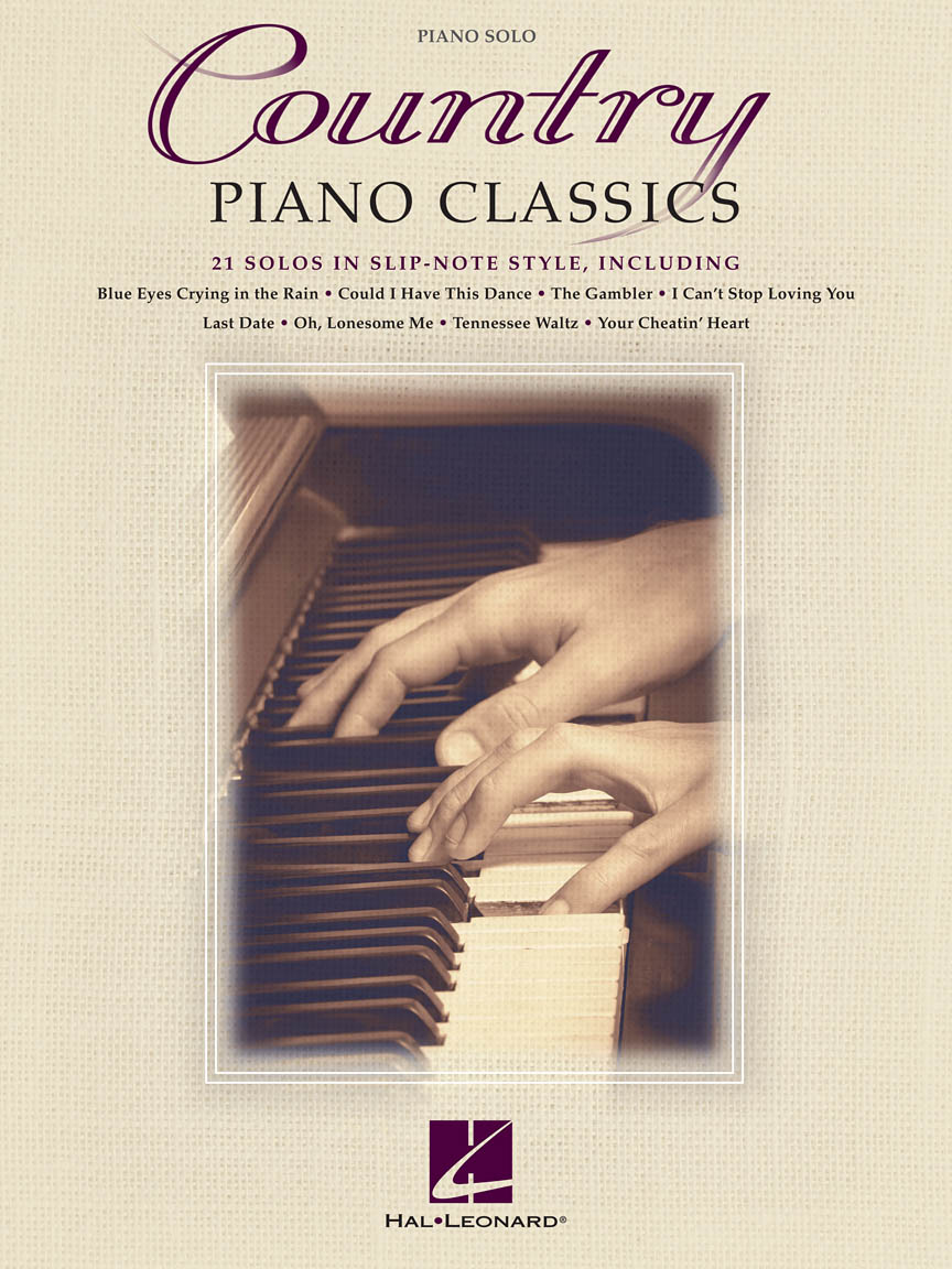 Product Cover for Country Piano Classics