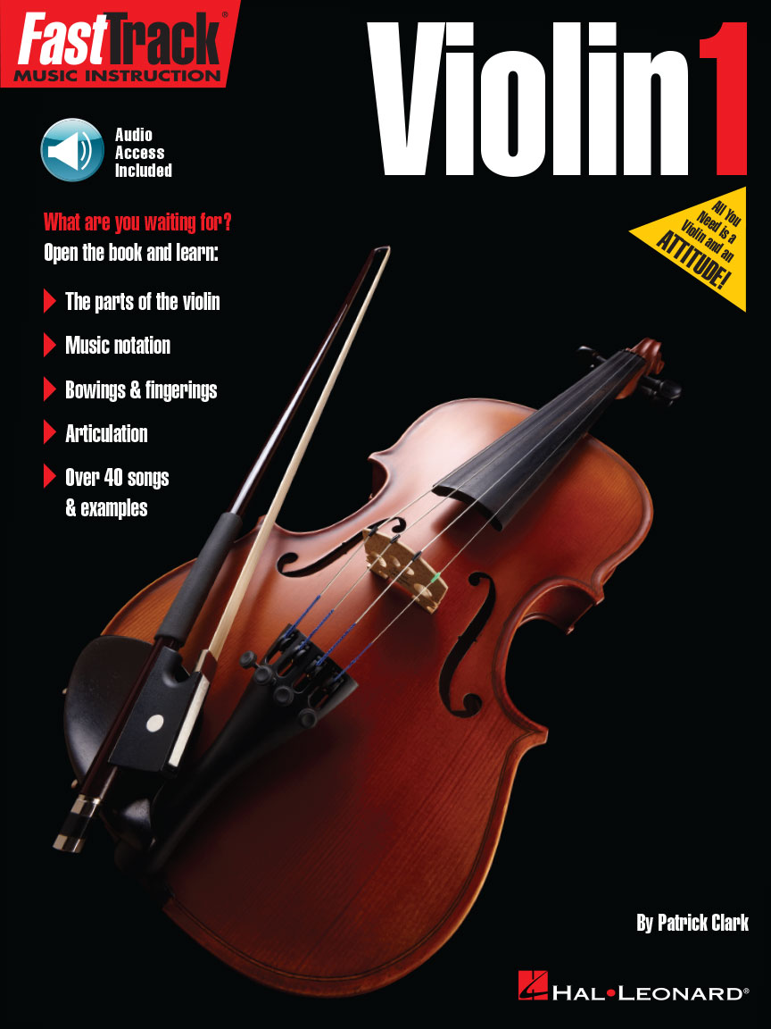 Product Cover for FastTrack Violin Method Book 1