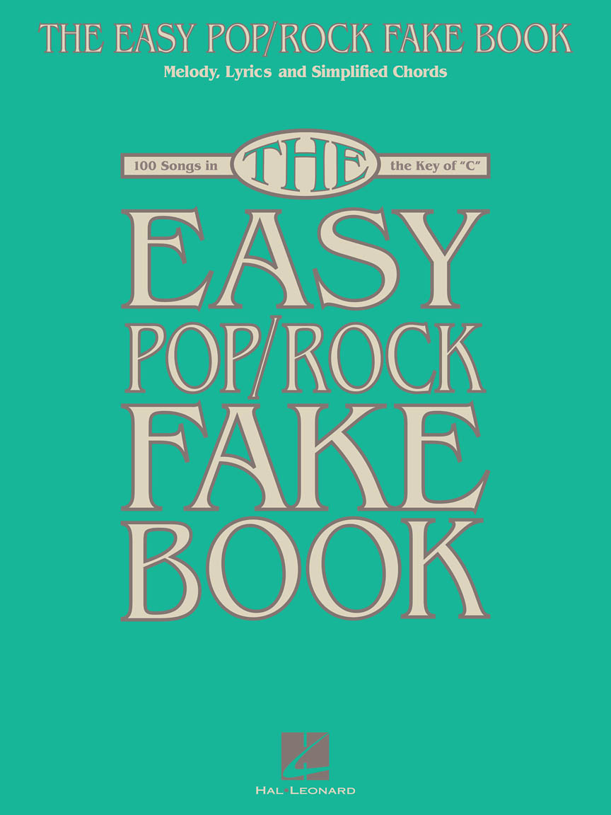 Product Cover for The Easy Pop/Rock Fake Book