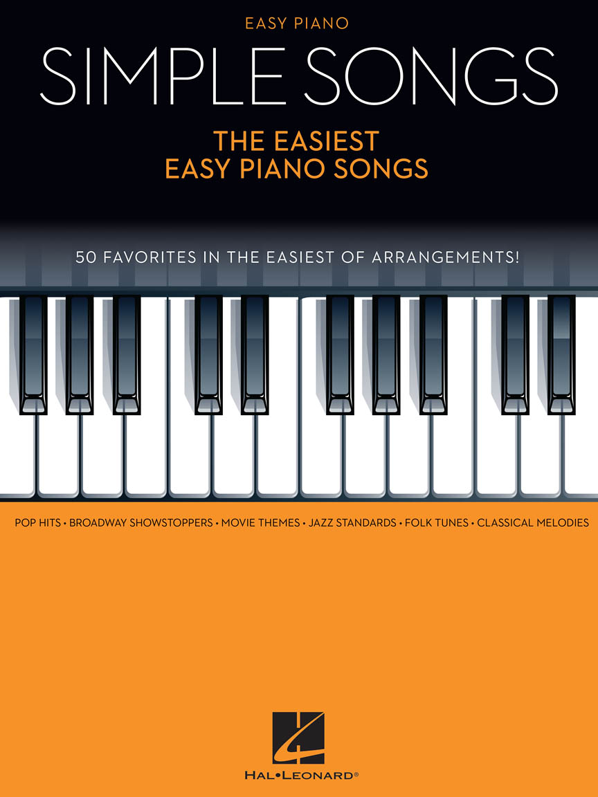 Product Cover for Simple Songs – The Easiest Easy Piano Songs