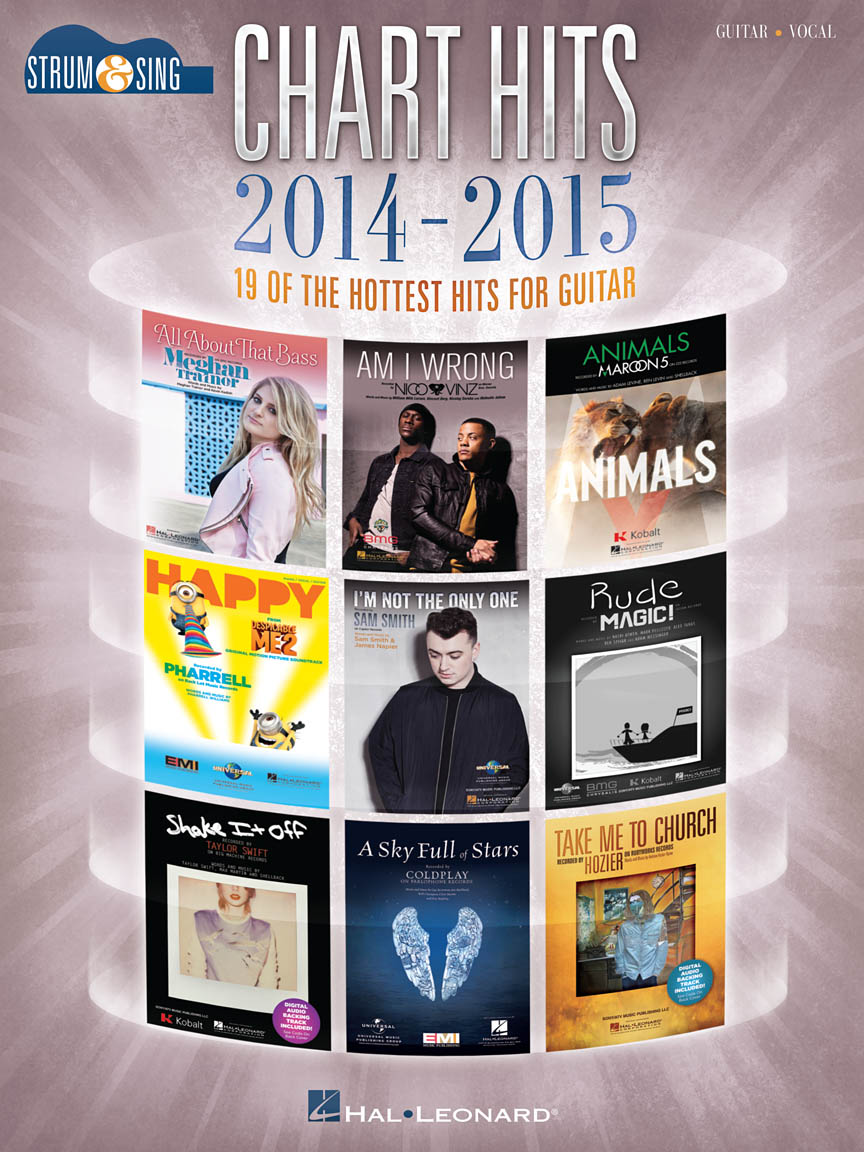 Product Cover for Chart Hits of 2014-2015 – Strum & Sing Guitar