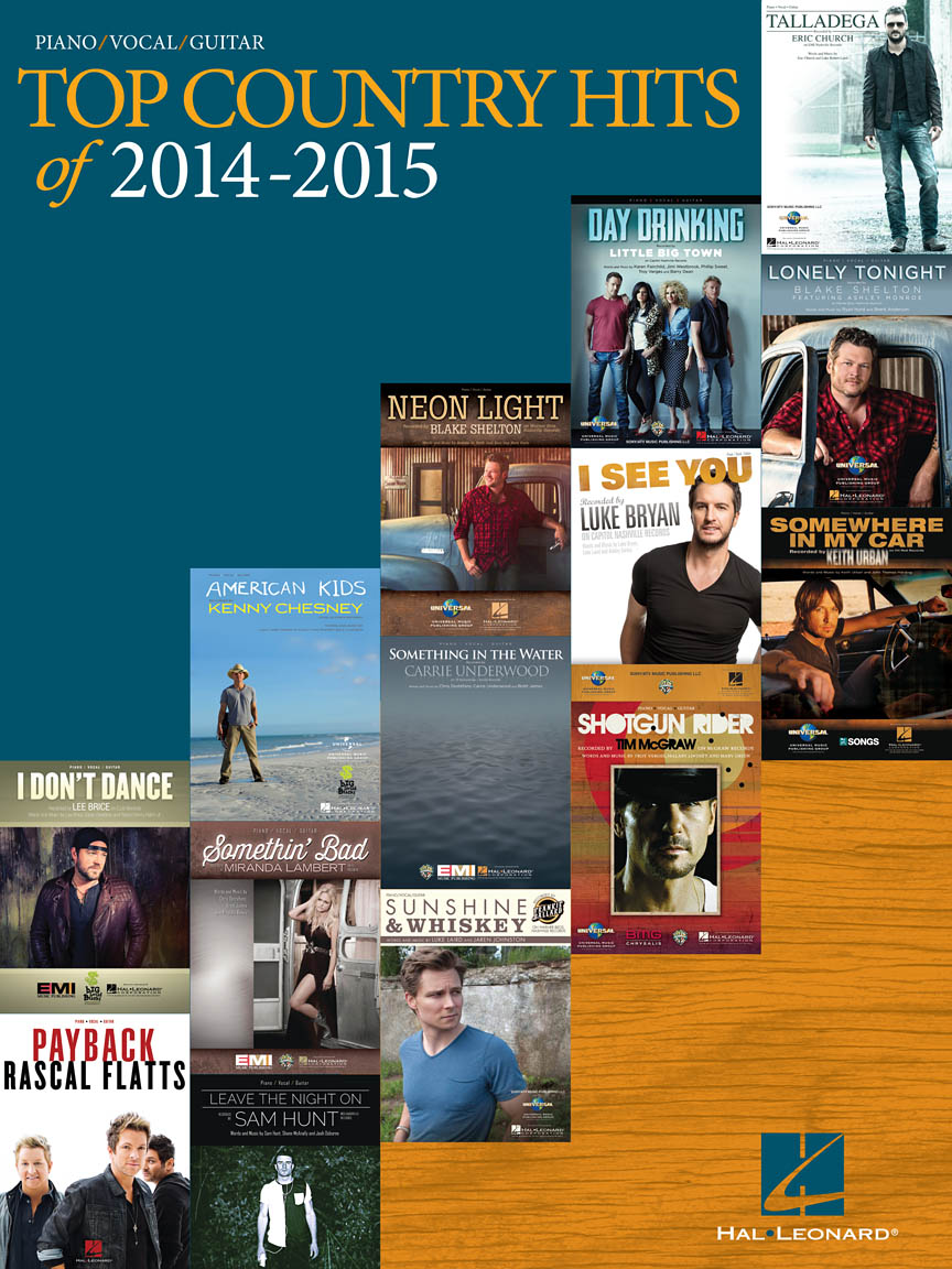 Product Cover for Top Country Hits of 2014-2015