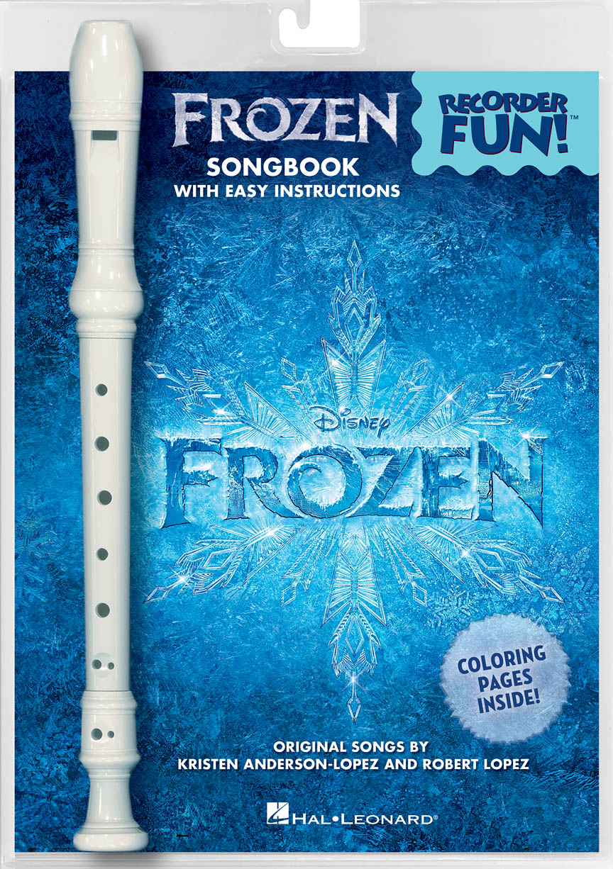 Product Cover for Frozen – Recorder Fun!