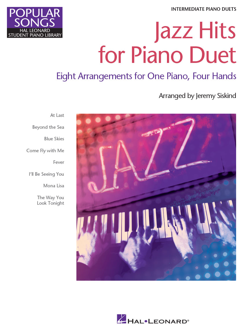 Product Cover for Jazz Hits for Piano Duet