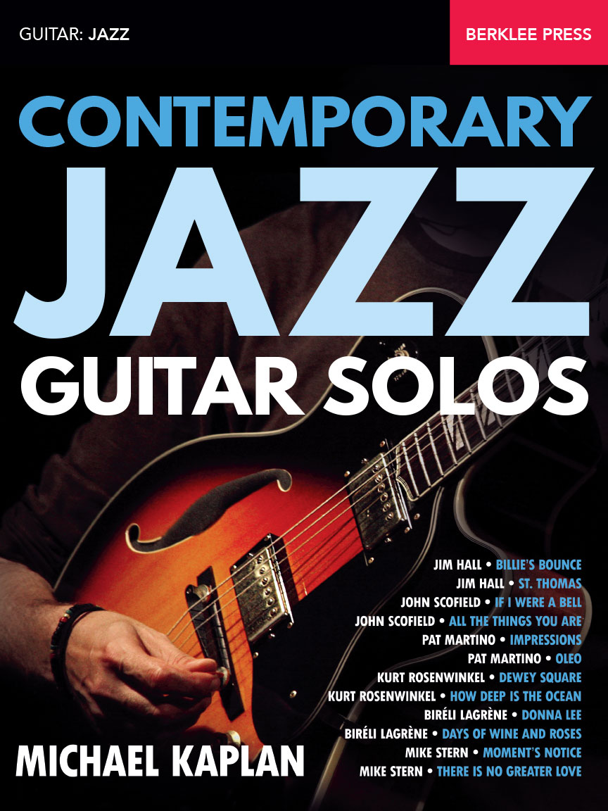 Product Cover for Contemporary Jazz Guitar Solos