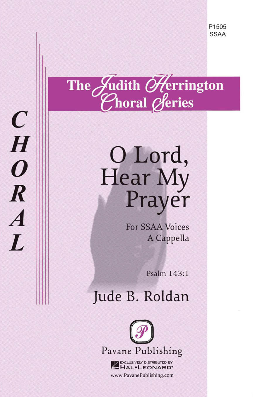 Product Cover for O Lord, Hear My Prayer