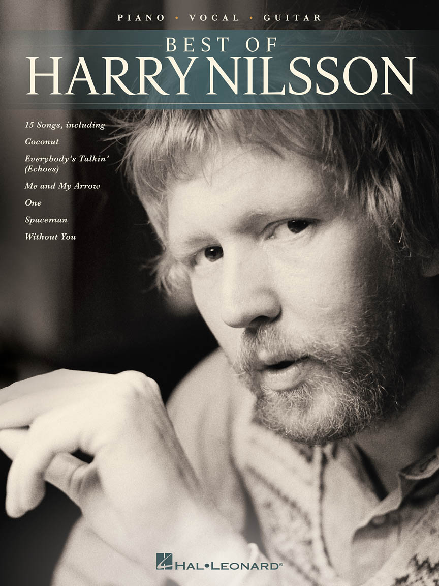 Harry Nilsson Best of Harry Nilsson Piano//Vocal//Guitar Artist Songbook P//V//G