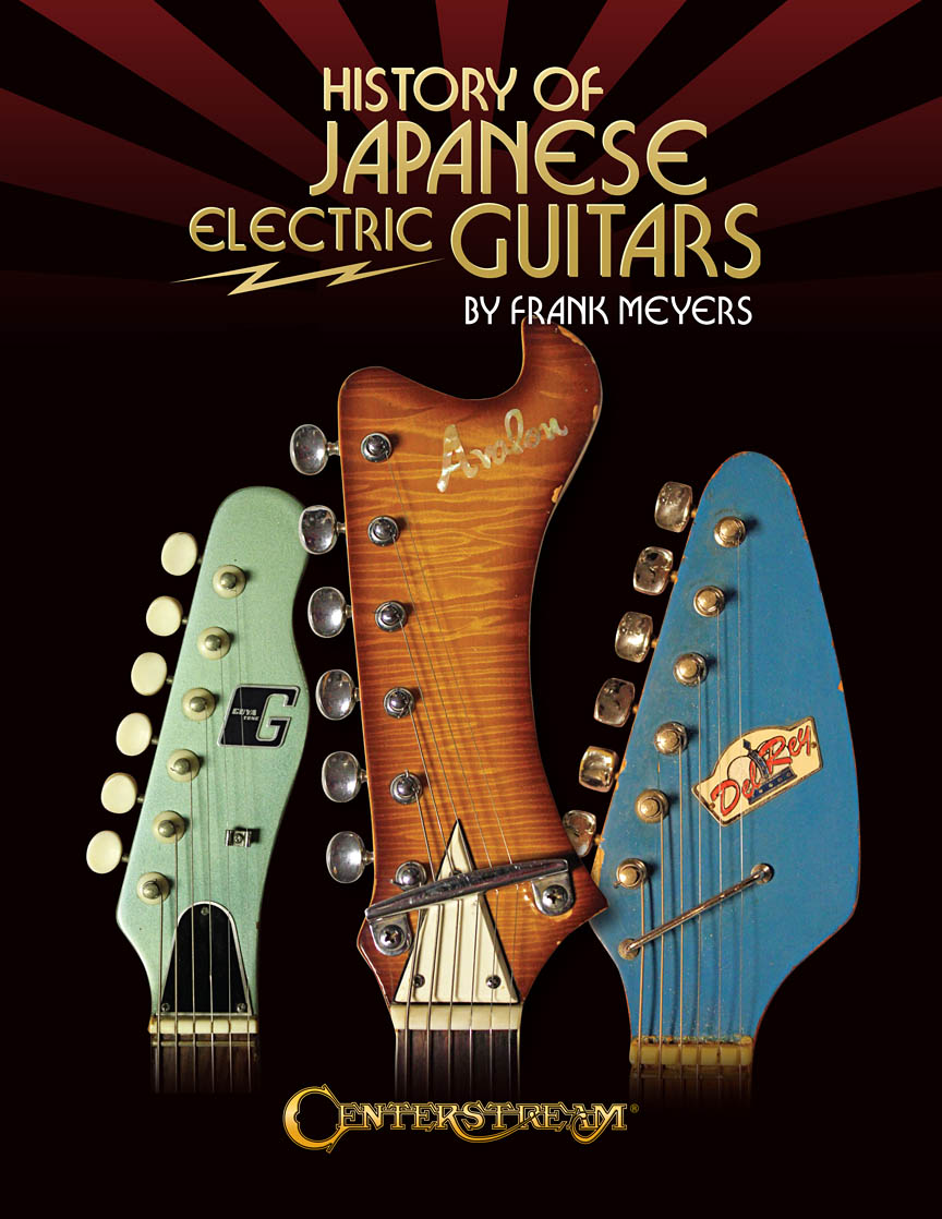 Product Cover for History of Japanese Electric Guitars