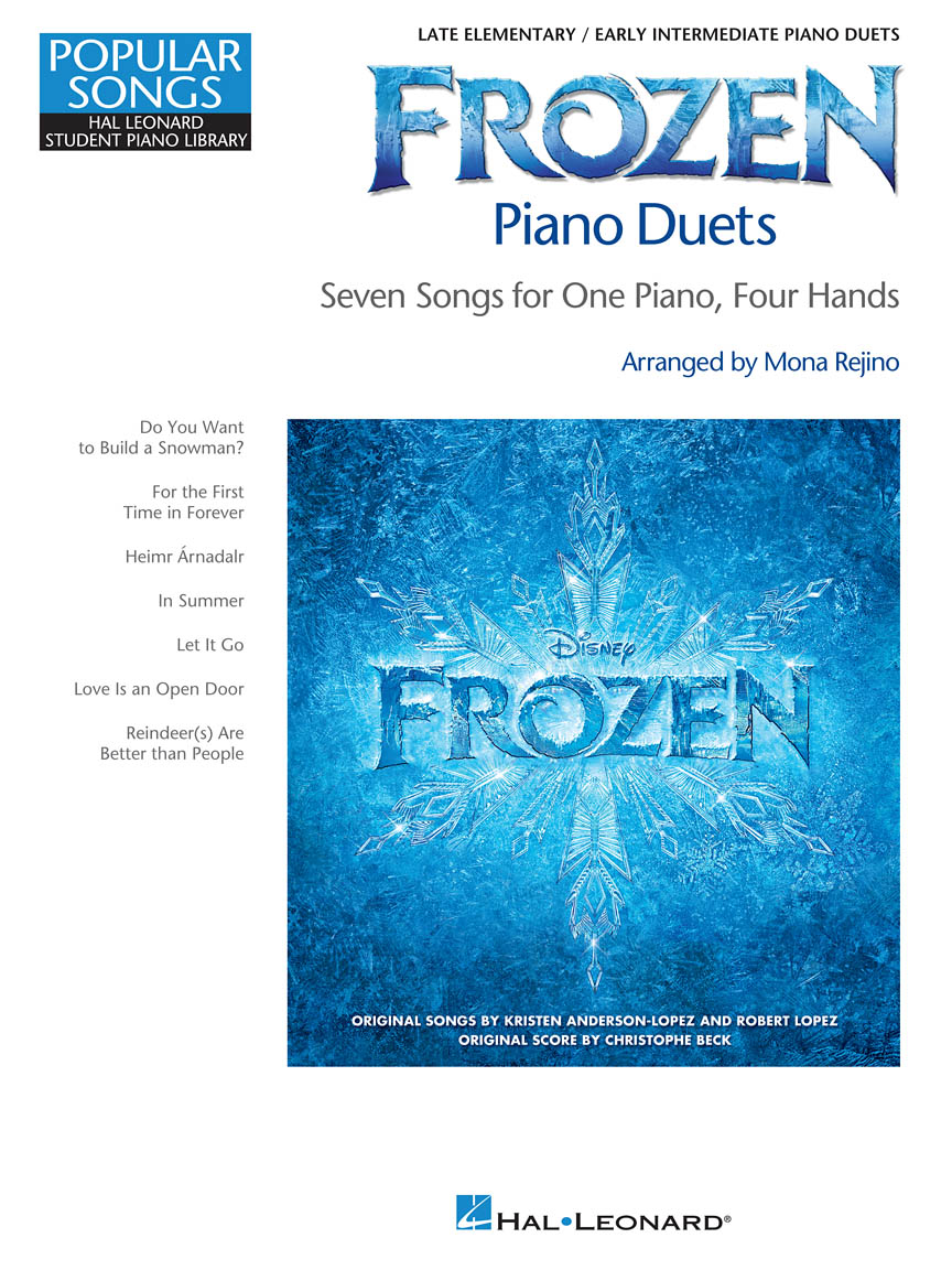 Product Cover for Frozen Piano Duets