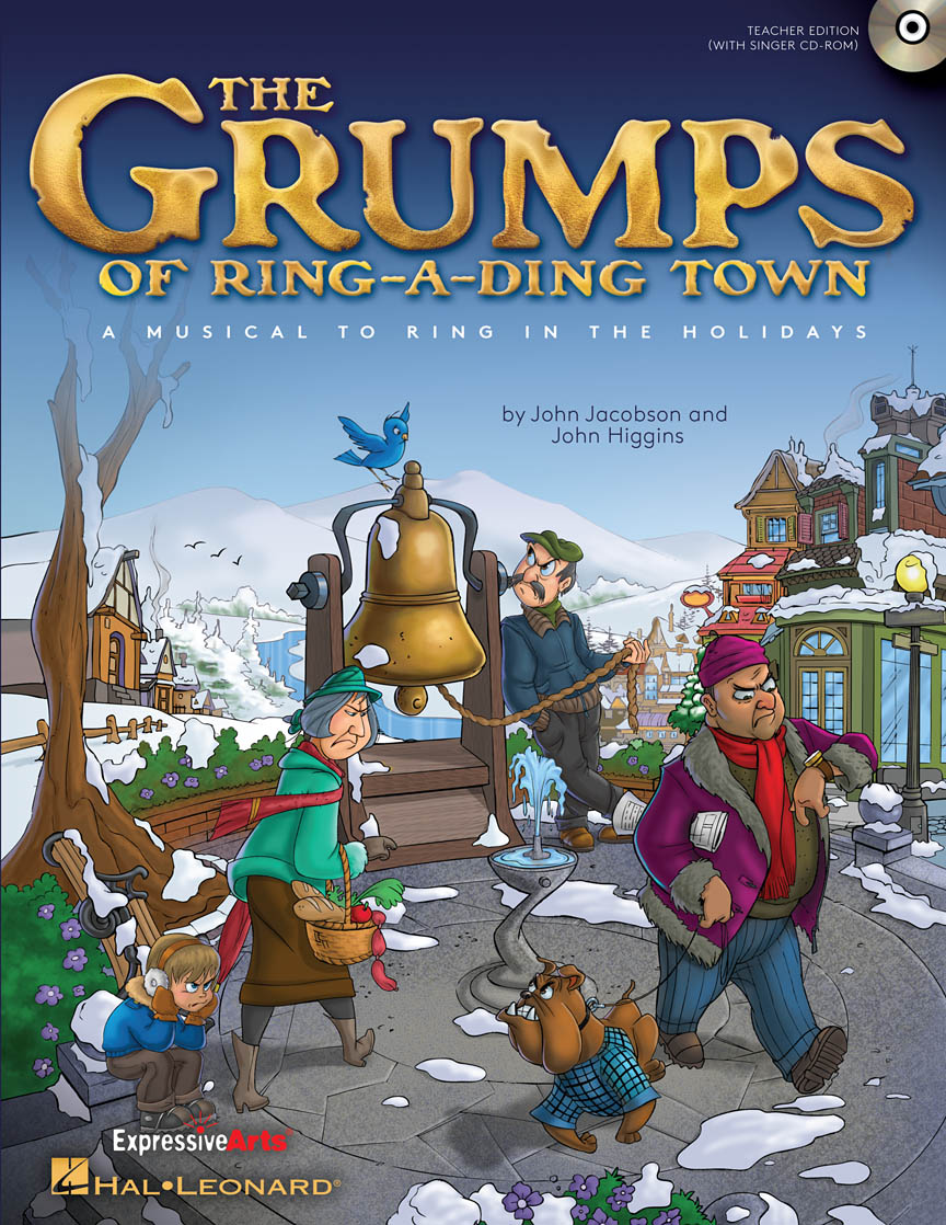 Product Cover for The Grumps of Ring-A-Ding Town