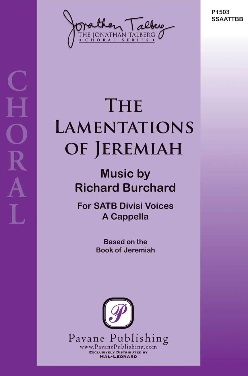 Product Cover for The Lamentations of Jeremiah