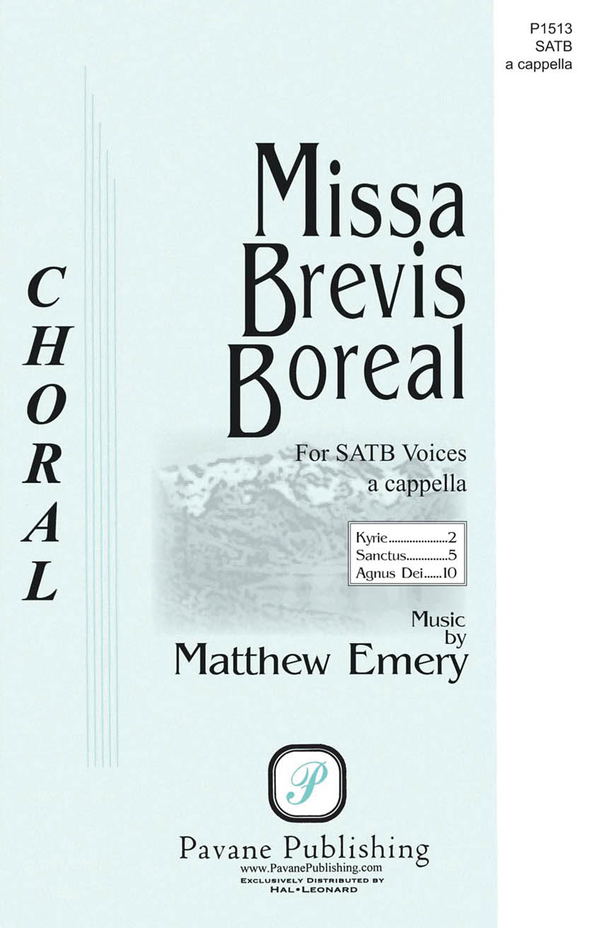 Product Cover for Missa Brevis Boreal