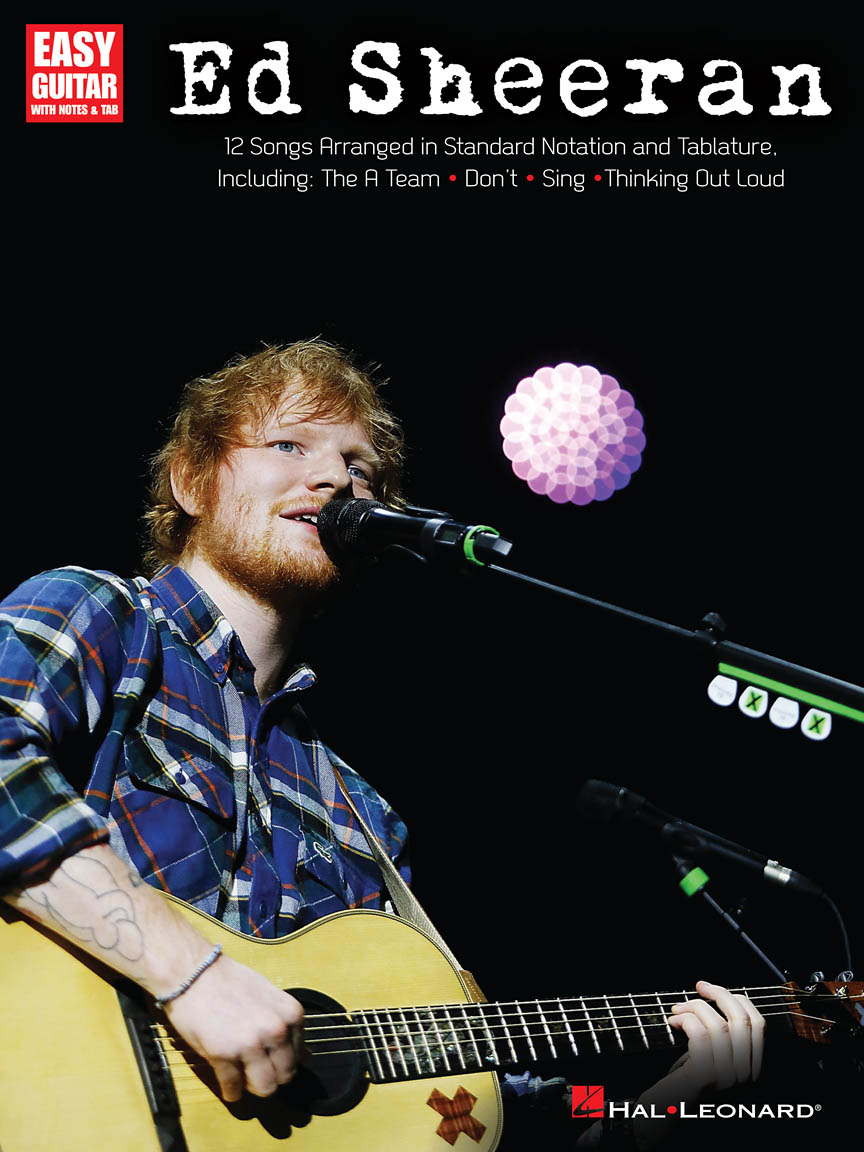 Product Cover for Ed Sheeran for Easy Guitar