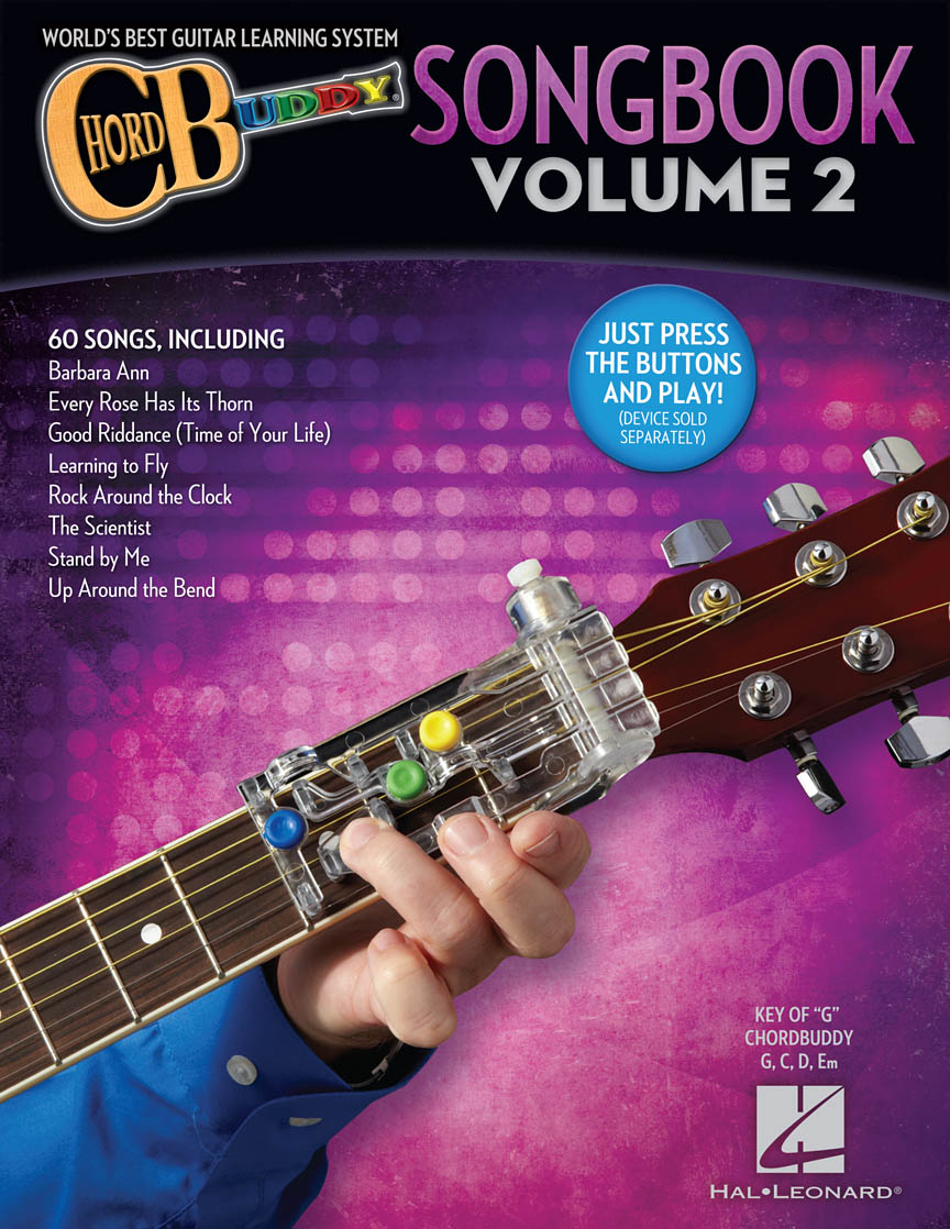 Product Cover for ChordBuddy Guitar Method – Songbook Volume 2