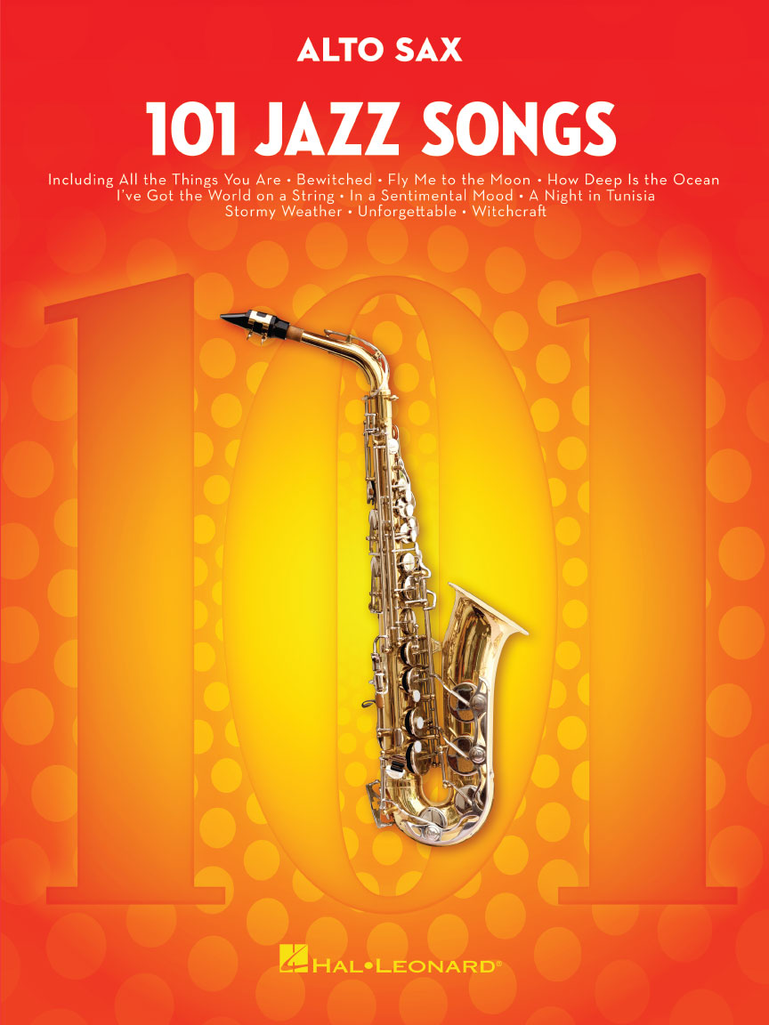 Product Cover for 101 Jazz Songs for Alto Sax