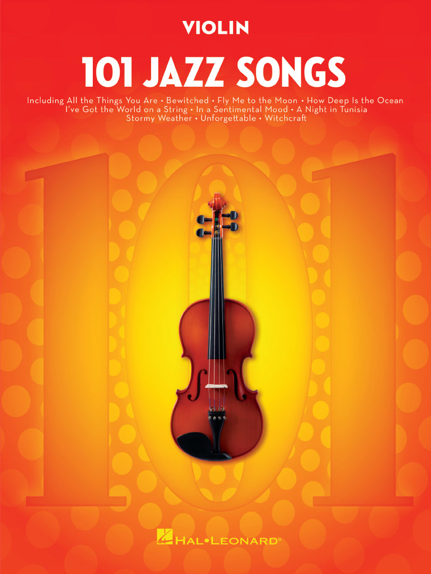 Product Cover for 101 Jazz Songs for Violin