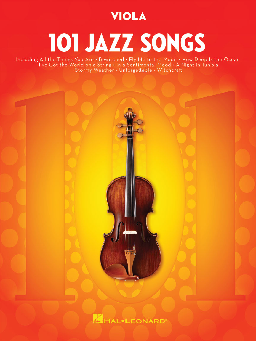 Product Cover for 101 Jazz Songs for Viola