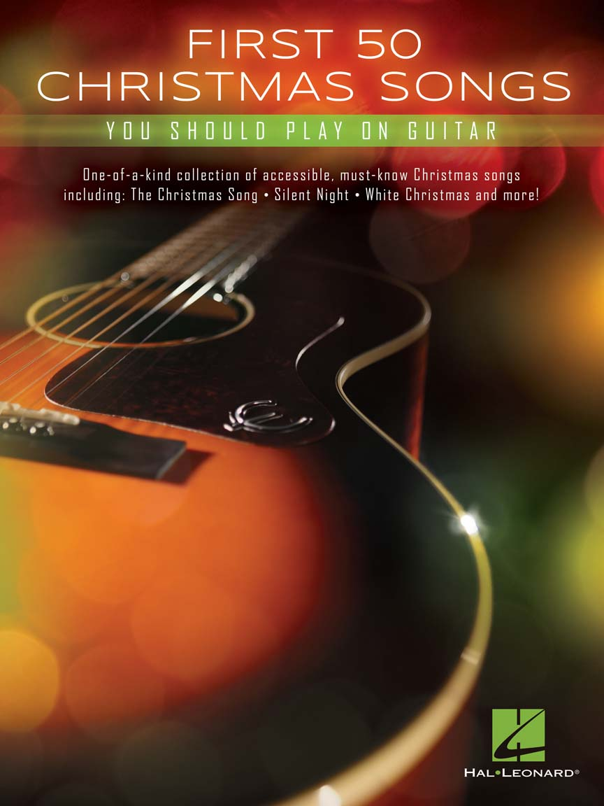 Product Cover for First 50 Christmas Songs You Should Play on Guitar
