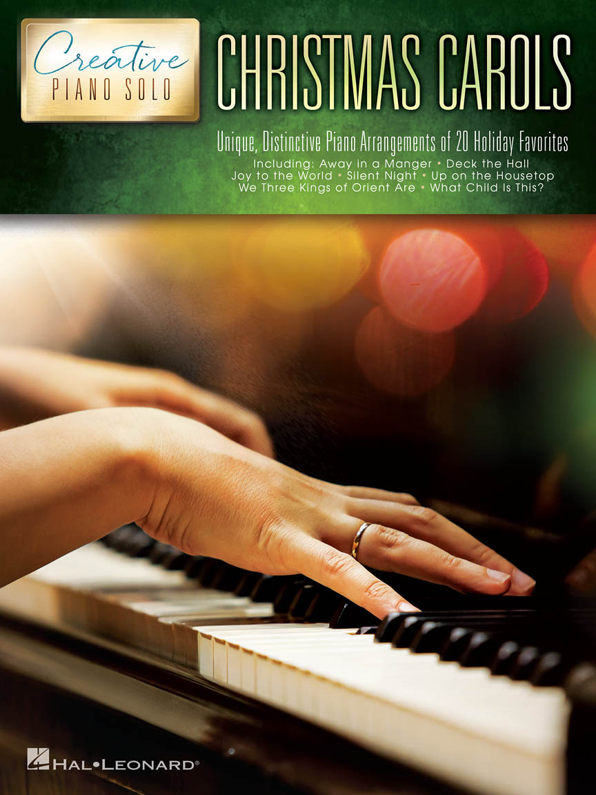 Product Cover for Christmas Carols – Creative Piano Solo