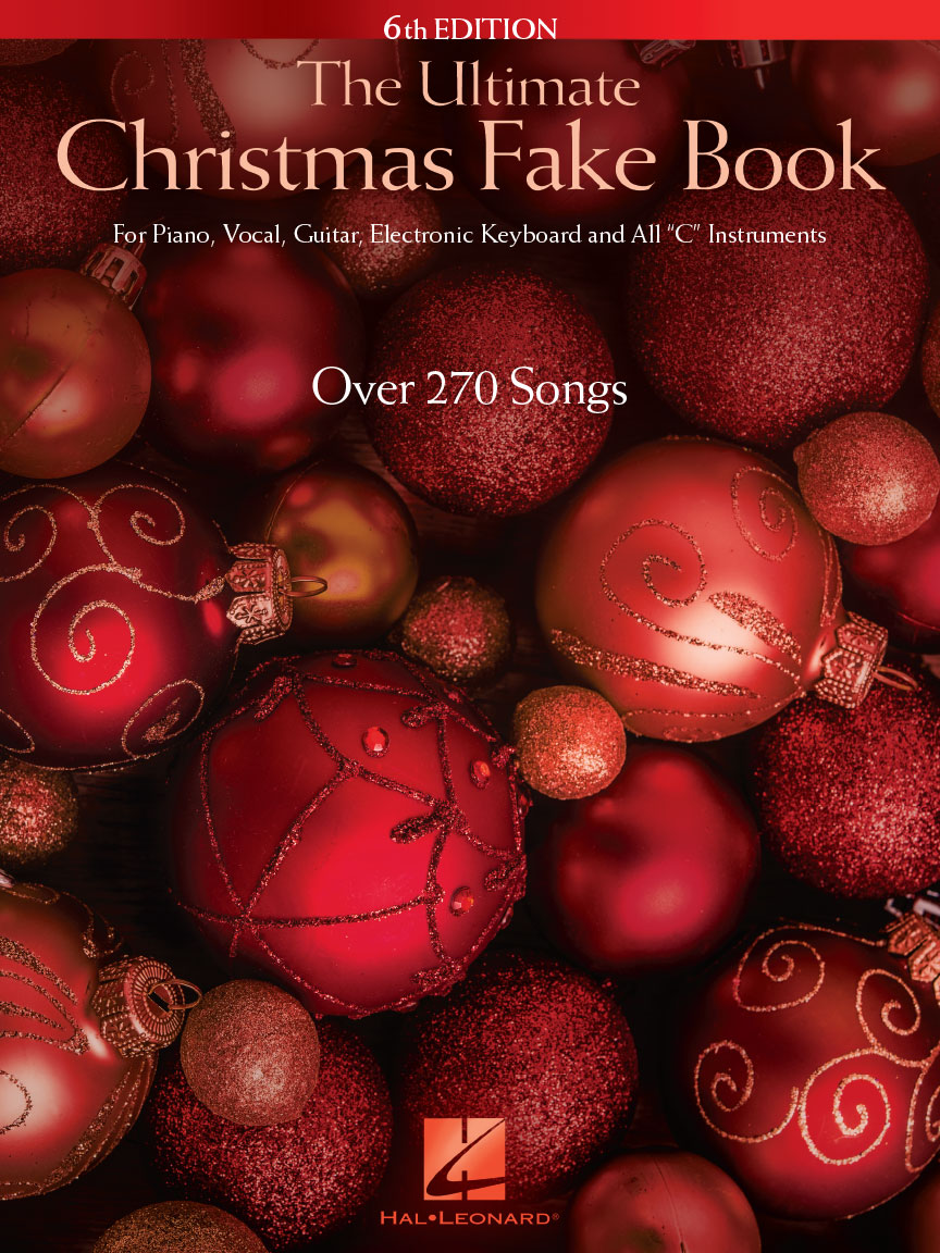 Rockin Around The Christmas Tree Piano Letters.The Ultimate Christmas Fake Book 6th Edition For Piano