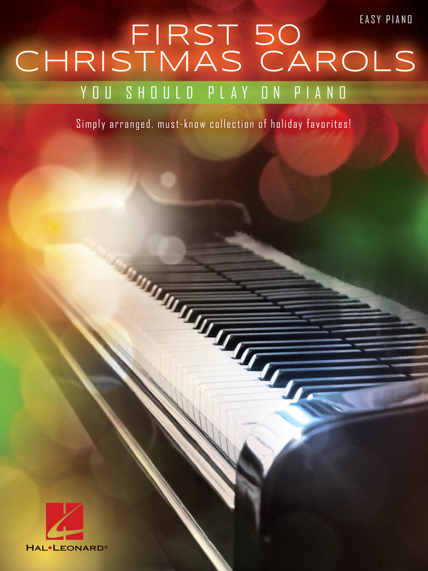 Product Cover for First 50 Christmas Carols You Should Play on the Piano