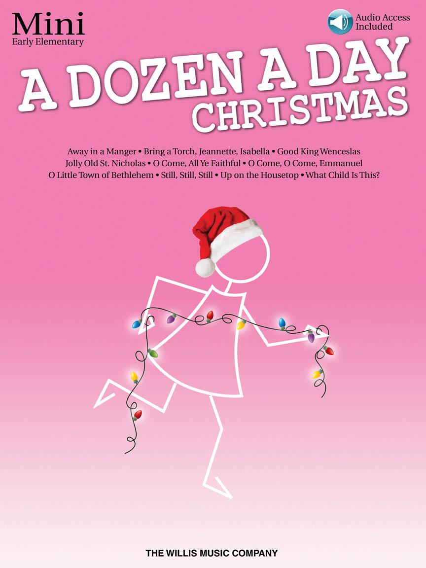 A Dozen a Day Christmas Songbook – Mini