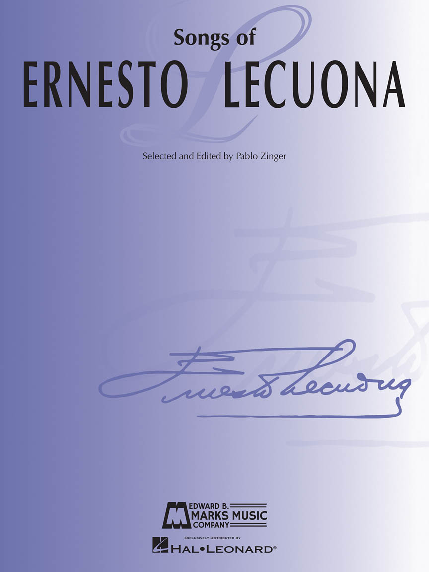 Product Cover for Songs of Ernesto Lecuona