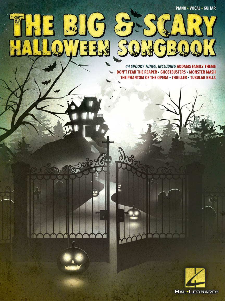 Product Cover for The Big & Scary Halloween Songbook